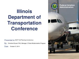 Illinois Department of Transportation Conference