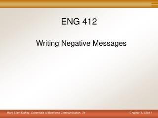 ENG 412