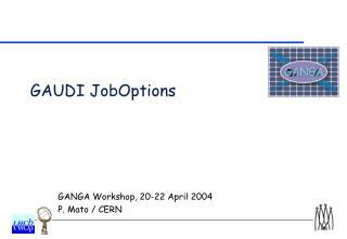 GAUDI JobOptions