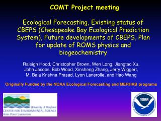 COMT Project  meeting