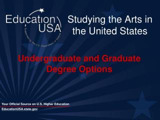 Studying the Arts in the United States