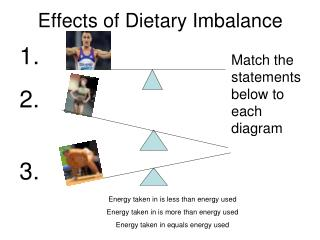 Effects of Dietary Imbalance