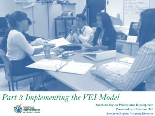 Part 3 Implementing the VEI Model Southern Region Professional Development