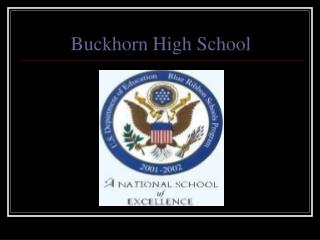 Buckhorn High School