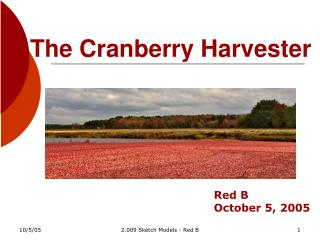 The Cranberry Harvester