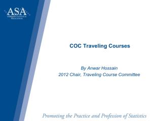 COC Traveling Courses