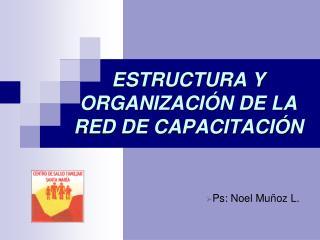 ESTRUCTURA Y ORGANIZACI�N DE LA RED DE CAPACITACI�N