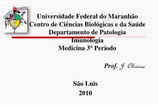 Prof. J. Oliveira S�o Luis 2010