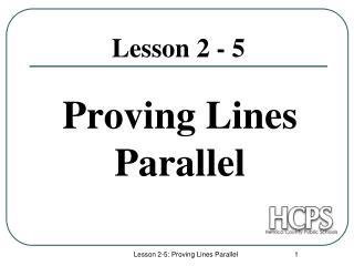 Lesson 2 - 5