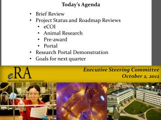 Executive Steering Committee October 2, 2012