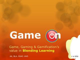 Game    n
