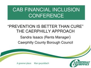 CAB FINANCIAL INCLUSION CONFERENCE