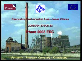 Renovation Post-industral Area – Nowe Gliwice 2003/004-379/05.33