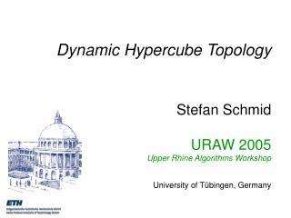 Static vs. Dynamic Networks (1)