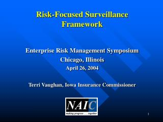 Risk-Focused Surveillance Framework