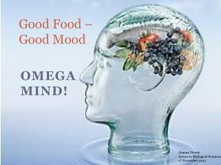 Good Food – Good Mood