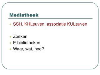 Mediatheek