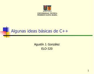 Algunas ideas b�sicas de C++