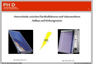 Unterschiede zwischen Flachkollektoren und Vakuumröhren Aufbau und Wirkungsweise