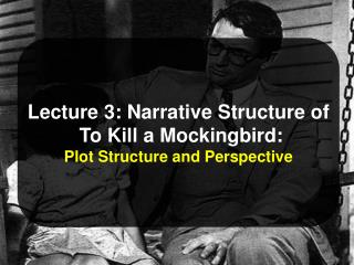 Lecture 3: Narrative Structure of  To Kill a Mockingbird: Plot Structure and Perspective