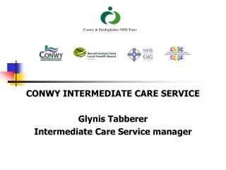 CONWY INTERMEDIATE CARE SERVICE Glynis Tabberer Intermediate Care Service manager
