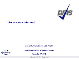 IAA Waiver - Interfund