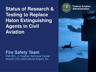 Status of Research  Testing to Replace Halon - PowerPoint ...