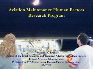 Aviation Maintenance Research Program 2002