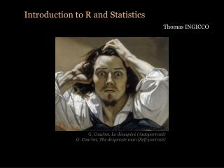 Introduction to R and  Statistics