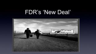 FDR's 'New Deal'