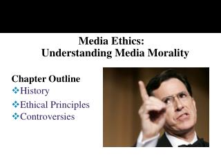 Media Ethics:  Understanding Media Morality
