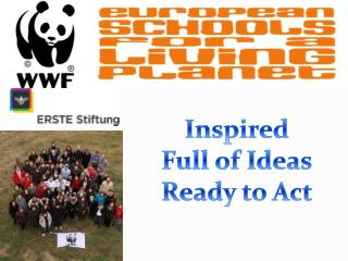 Inspired Full of Ideas Ready to Act
