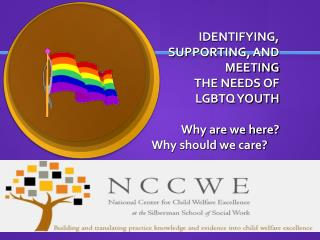 Why LGBTQ Youth?