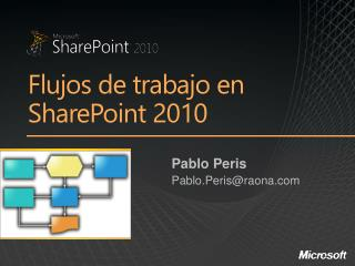 Flujos  de  trabajo  en SharePoint 2010
