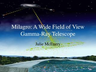 Milagro: A Wide Field of View Gamma-Ray Telescope