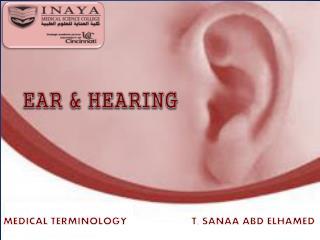 EAR & HEARING
