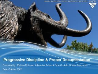 Progressive Discipline & Proper Documentation
