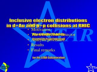Inclusive electron distributions in d+Au and p+p collisions at RHIC