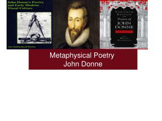 Metaphysical Poetry  John Donne