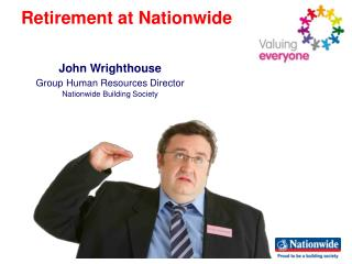 John Wrighthouse Group Human Resources Director Nationwide Building Society