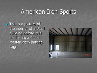 American Iron Sports
