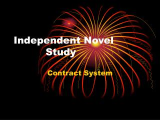 Independent Novel     Study