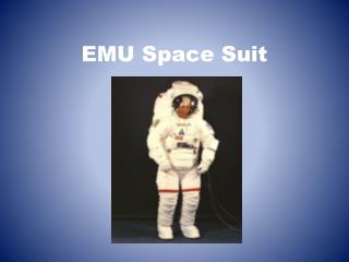 EMU Space Suit