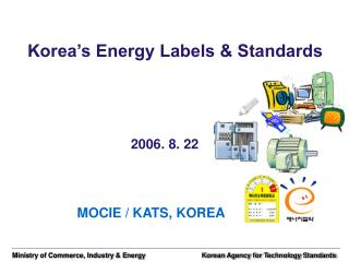 Korea's Energy Labels & Standards