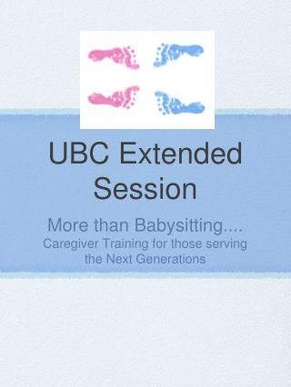 UBC Extended Session