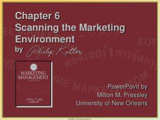 Chapter 6 Scanning the Marketing Environment by