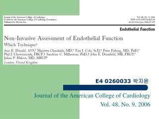 Journal of the American College of Cardiology Vol. 48, No. 9, 2006