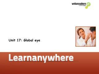 Unit 17: Global eye