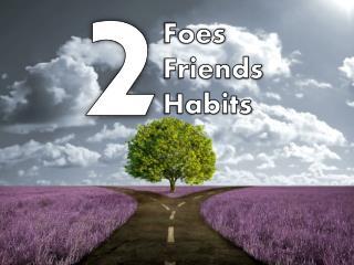 Foes Friends Habits