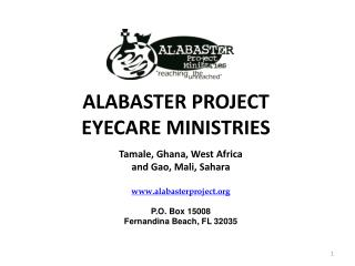 ALABASTER PROJECT EYECARE MINISTRIES
